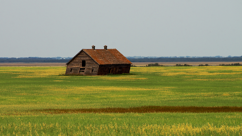 Abandoned Alberta Farmstead
