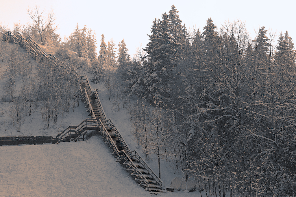 Edmonton River Valley Stairs