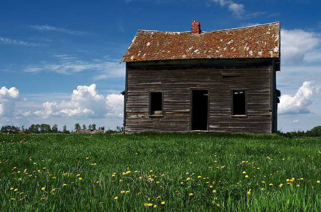 Little Abandoned House on the Prairie