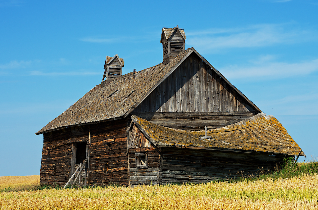 Barn with Steeples