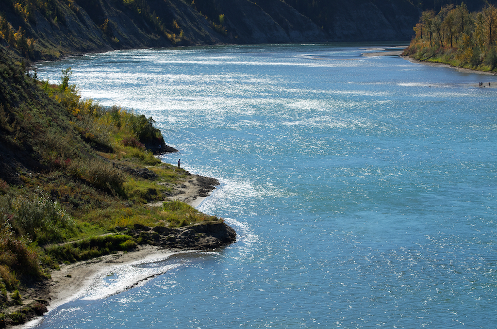 The Mighty North Saskatchewan River