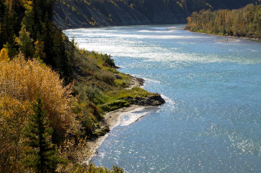 The Mighty North Saskatchewan River