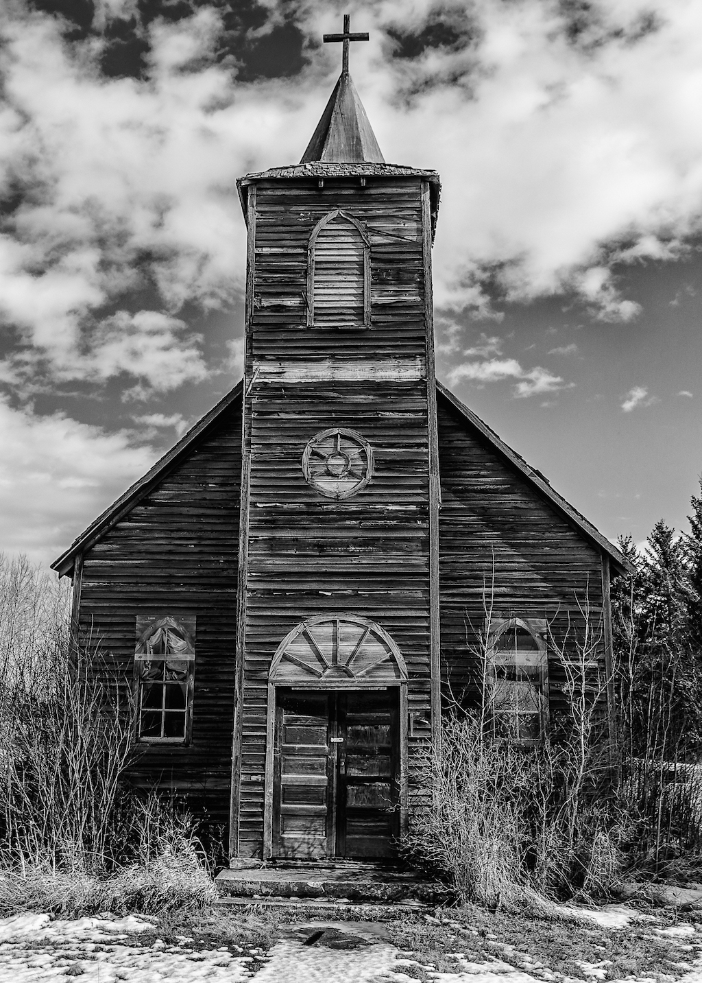 Wooden Steeple Church